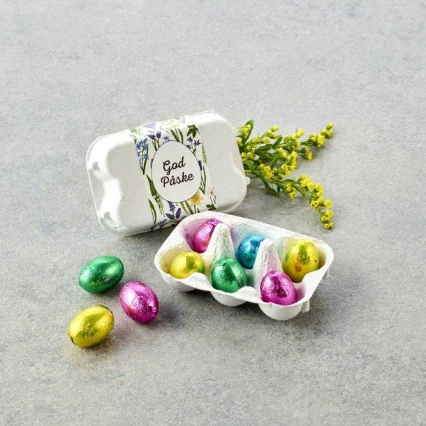 Æggebakke m/ pralineæg -6 stk