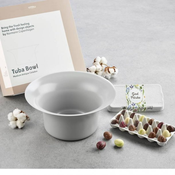 Tivoli Tuba mellem grå - m/mini luksusæg