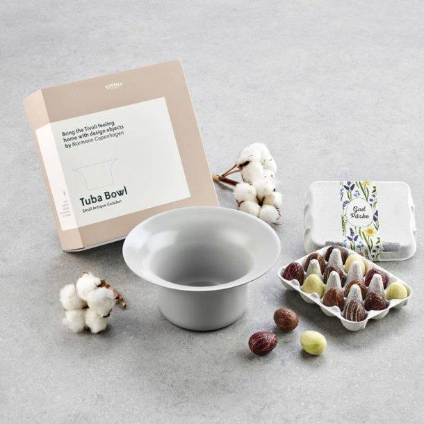 Tivoli Tuba lille grå - m/mini luksusæg
