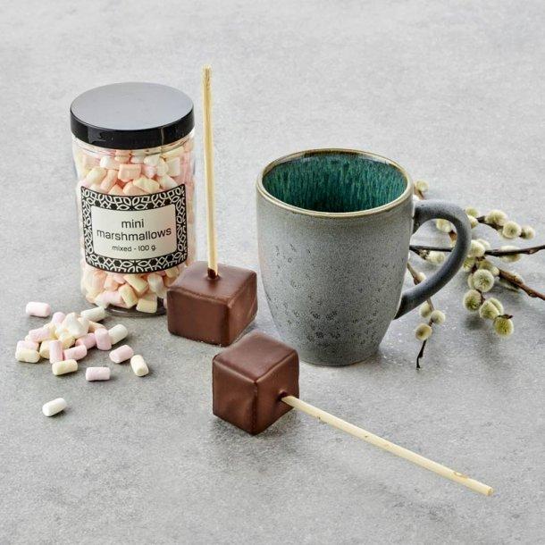 Bitz krus m/mini marshmallows - grå/grøn