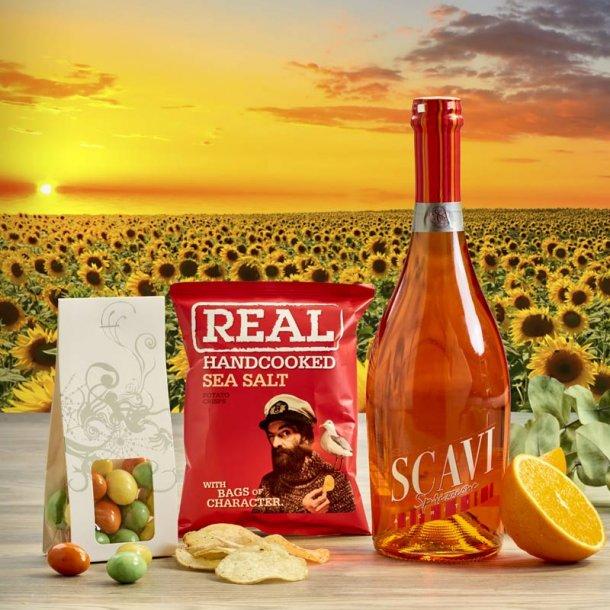 Sommergave Scavi & snacks - no.1