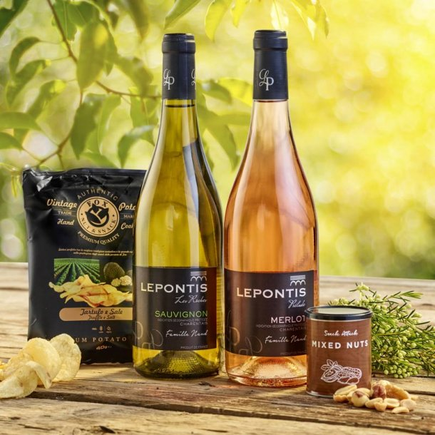 Vinpakken sommer & snacks