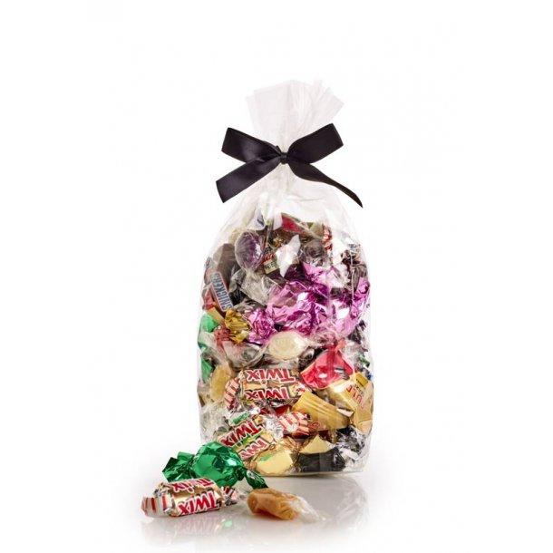 Fredagsslik - chokolade, karameller og bolcher -550g