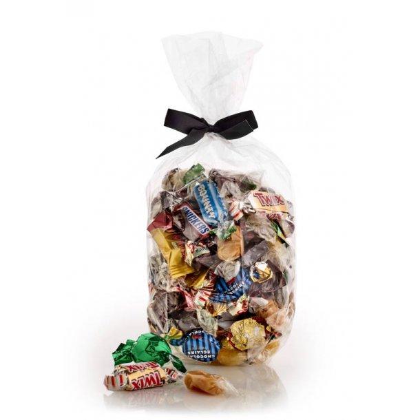 Fredagsslik - chokolade, karameller og bolcher -750g