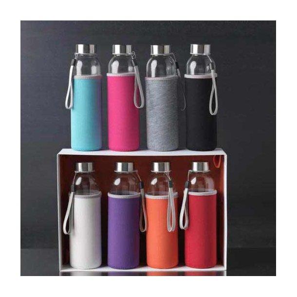 Bohdi sportsdrikkeflaske - glas - 500 ml.