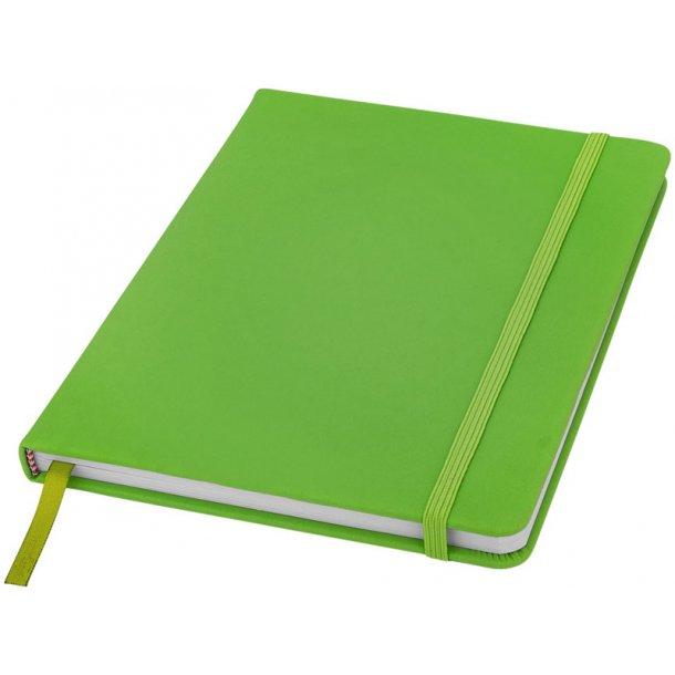 Notesbog A5 hardcover - flere farver