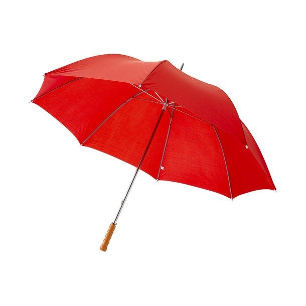 Golf paraply Karl - flere farver - med træhåndtag