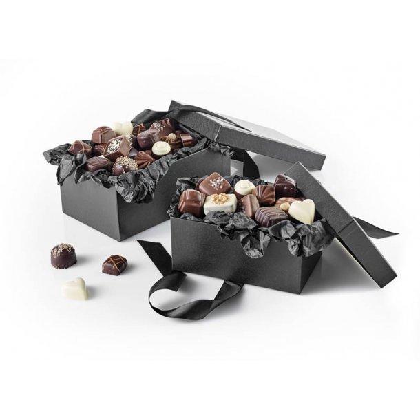 Gaveæske med luksus chokolade - 500g.