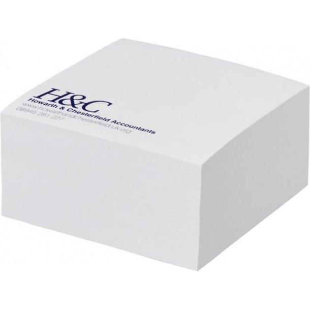 Memoblok kubus hvid 55x55 - 280 ark