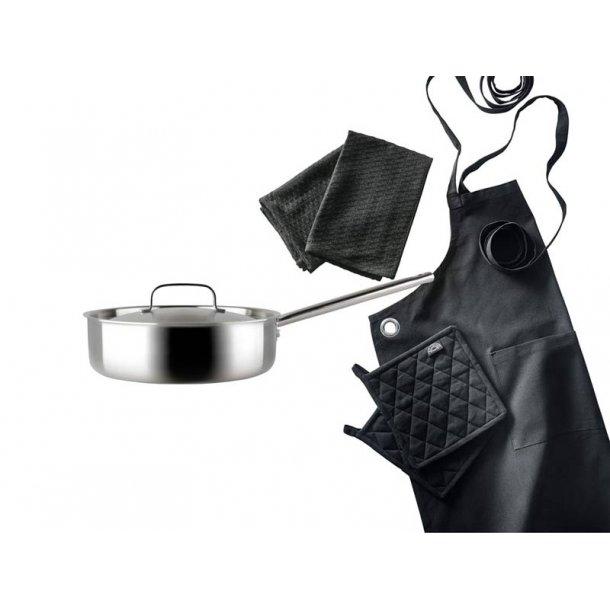PILLIVUYT Gourmet sauterpande & tekstiler