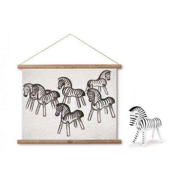 Kay Bojesen Zebra & plakat