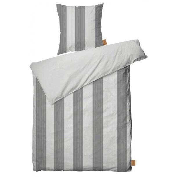 JUNA Sengesæt - Folded stripes