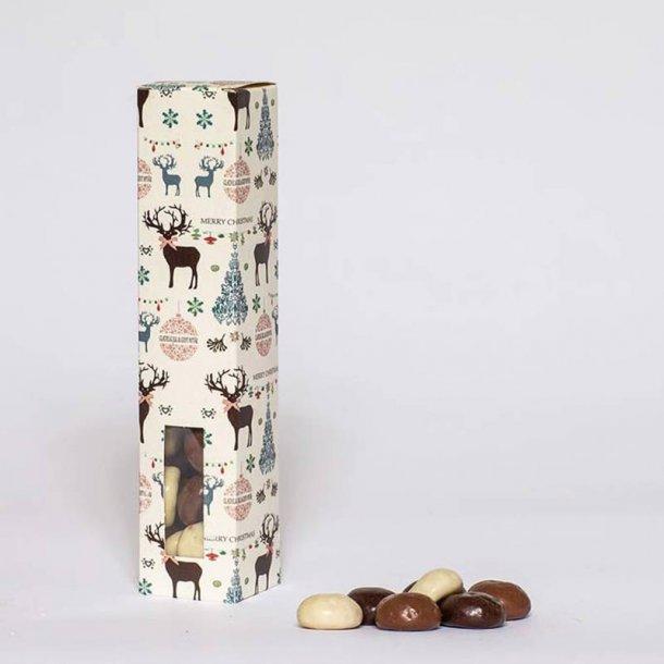 Christmas Deer - chokolade overtrukne pebernødder