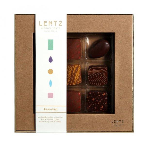 LENTZ Luksus chokolade 9 stk
