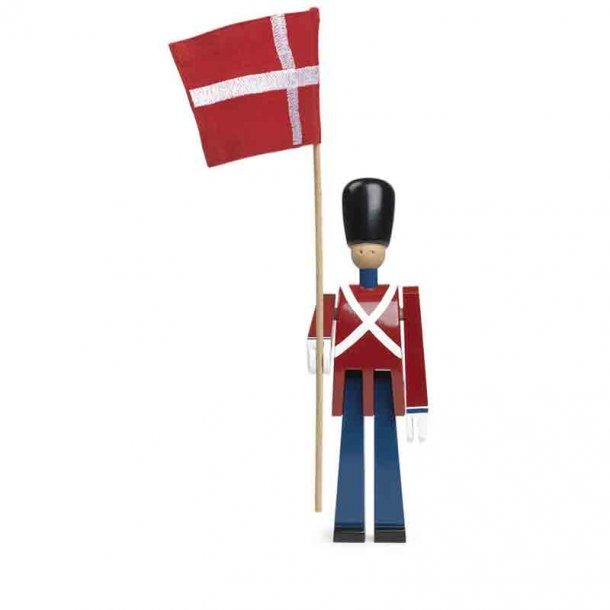 Kay Bojesen - Garde  med flag