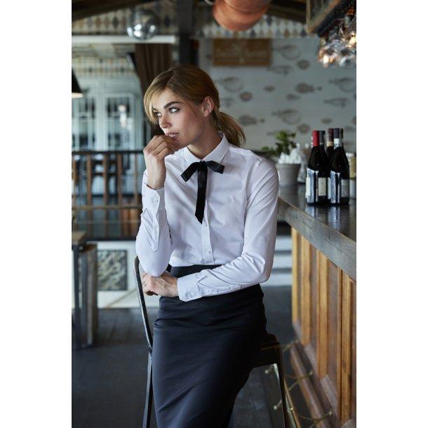 Luksus stretch skjorte - Dame