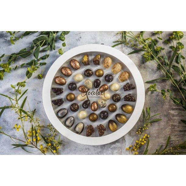 Xocolatl Påske gave - med fyldte chokolader