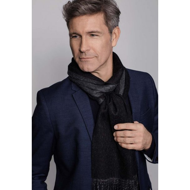 His & Her tørklæde - black / grey