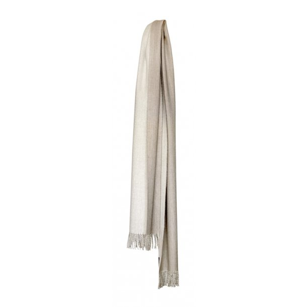 His & Her tørklæde - beige / off white