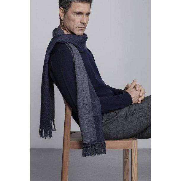 His & Her tørklæde - navy / grey