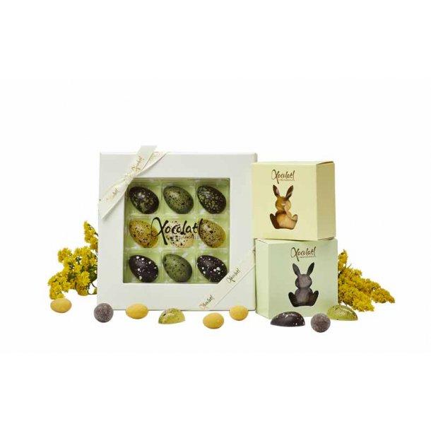 Påskehilsen chokolade - lille
