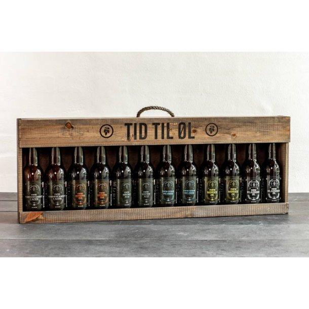 Tid til øl 12 stk. økologisk dansk øl