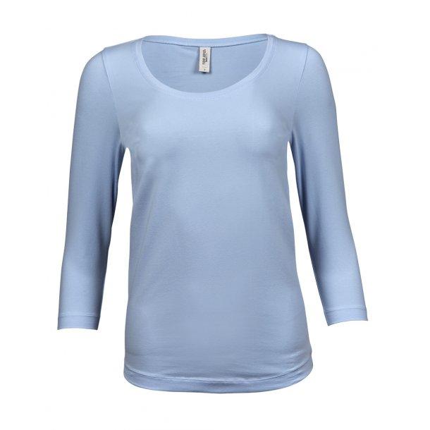 Dame T shirts - stretch 3/4 ærme