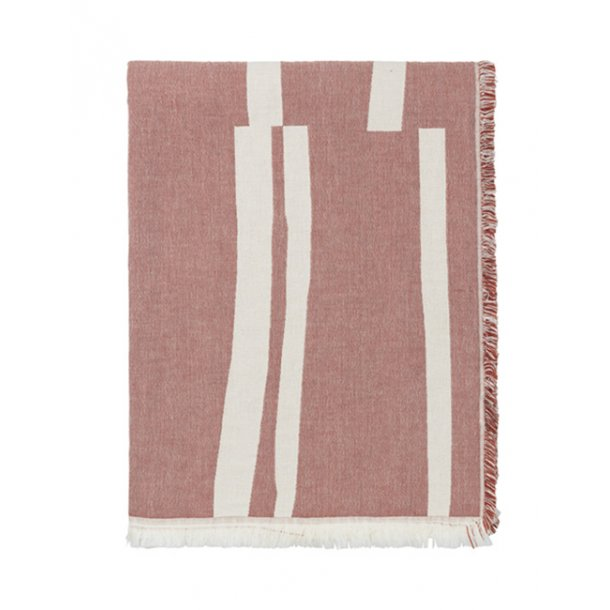 Elvang Lyme Grass plaid - Rusty red
