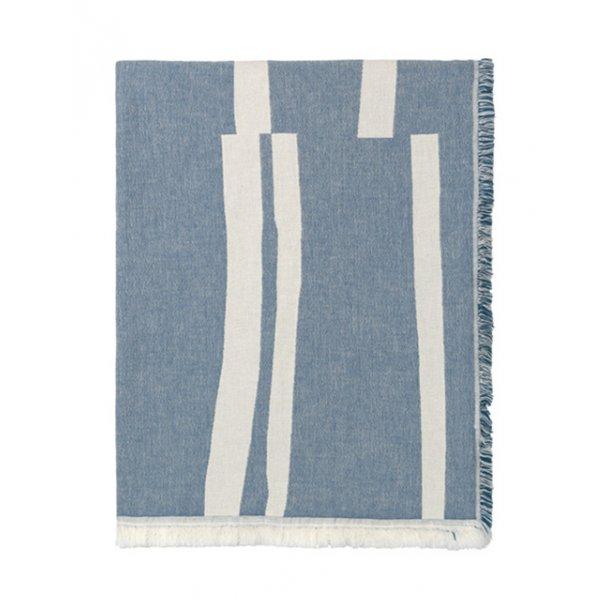 Elvang Lyme Grass plaid - blå