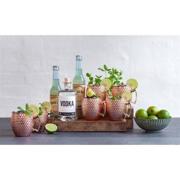 Moscow mule 6 krus & vodka - gaveæske