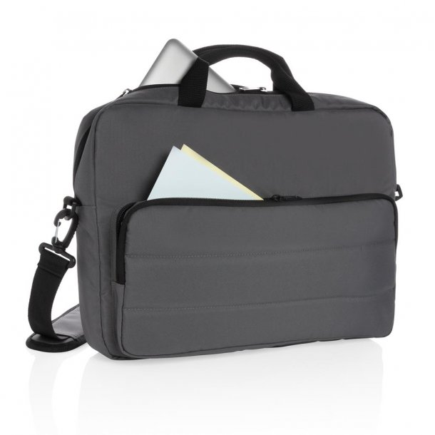 "Laptop taske 15,6"" - Impact Aware rPet - grå"