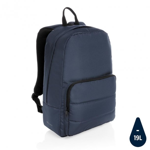 "Laptop rygsæk  15.6"" - Impact AWARE rPET - blå"