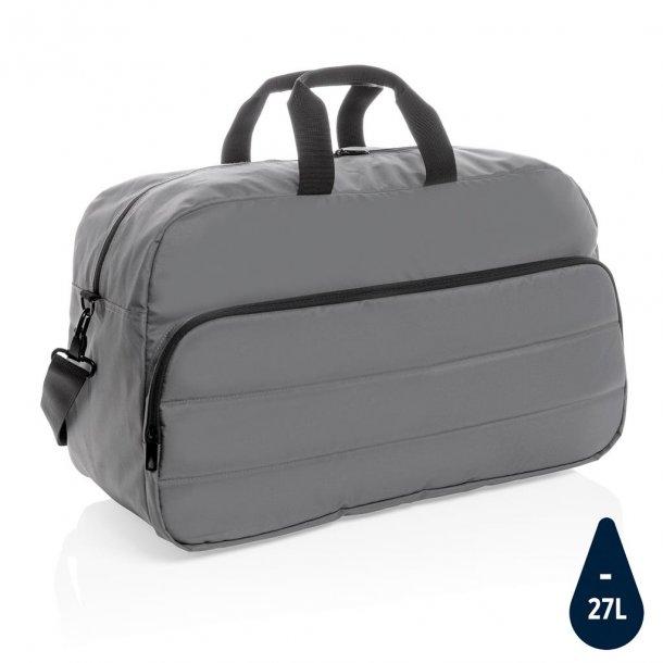 Weekend taske duffel - rPET - grå