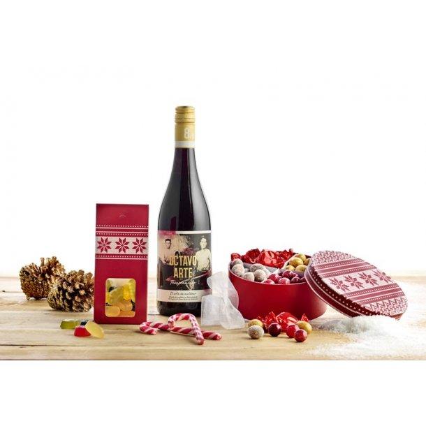 Juleposen - vin & chokolade