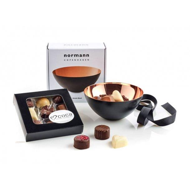 Normann Copenhagen Krenit skål 12 & chokolade