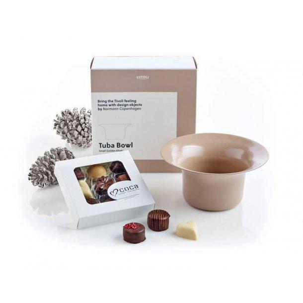 Tivoli Tuba skål 15 & chokolade - khaki