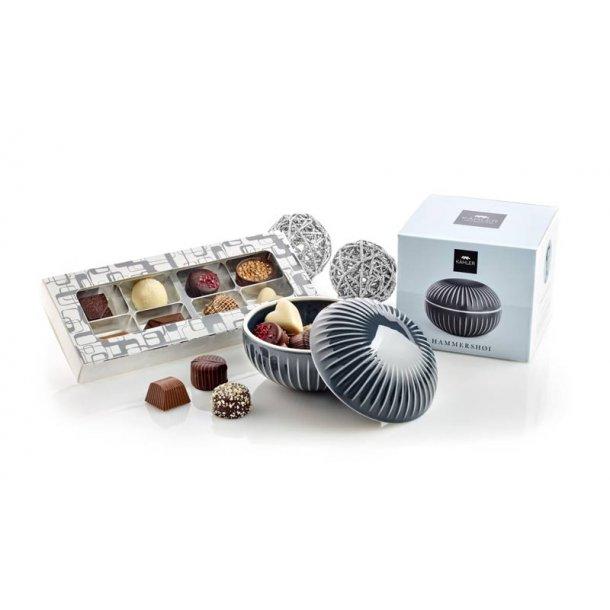 Kâhler bonbonniere m/chokolade - grå