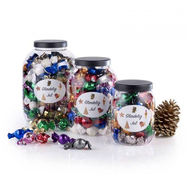 Mixede chokoladeballs  Glædelig jul - 1200g