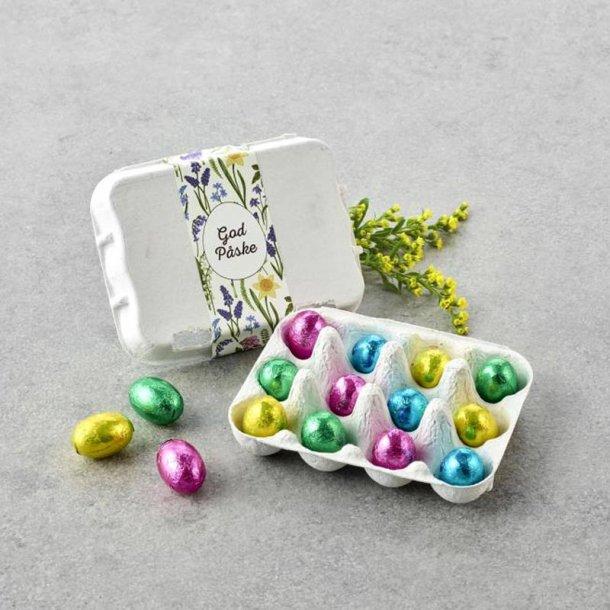 Æggebakke m/ pralineæg -12 stk