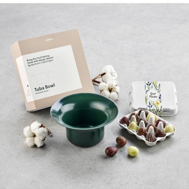 Tivoli Tuba lille  grøn - m/mini luksusæg