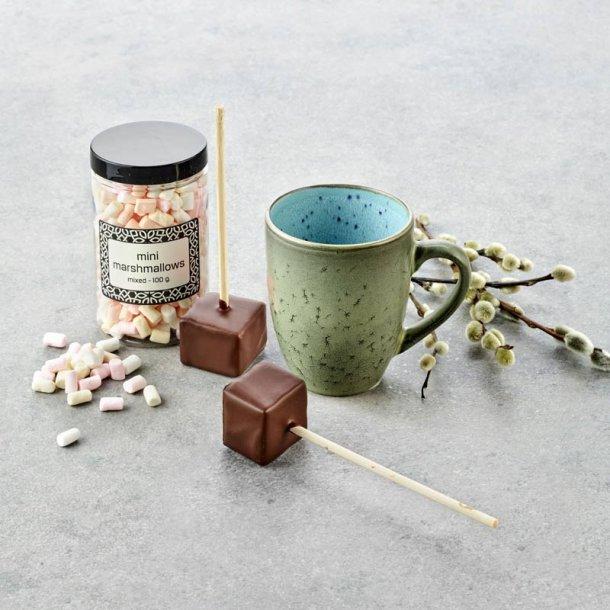 Bitz krus m/mini marshmallows - grøn/lyseblå