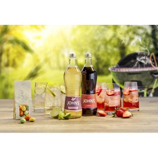 Sommergave uden alkohol - saft & glas