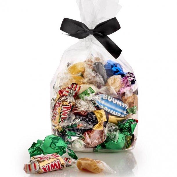 Fredagsslik - chokolade, karameller og bolcher -350g