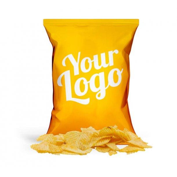 Barbeceu chips i pose med dit design