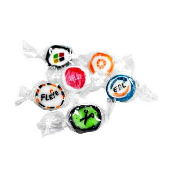 Håndlavede bolsjer med firma logo - med god smag