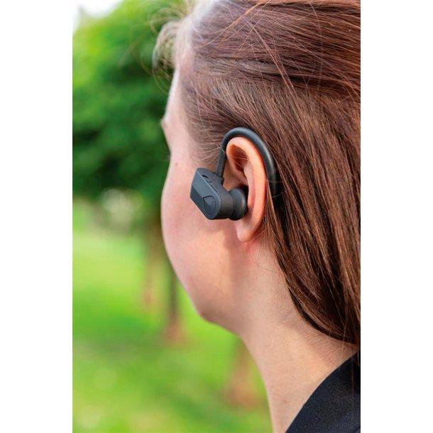 TWS sports øretelefoner med oplade etui