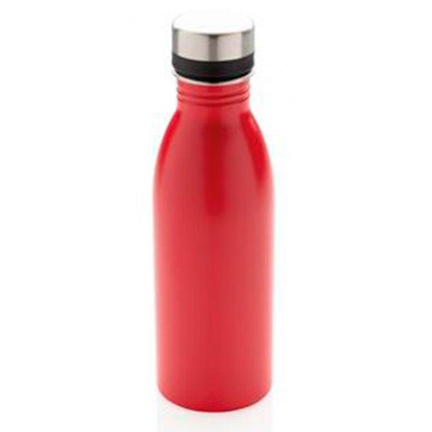 Vandflaske - Deluxe - rustfri stål - 500 ml.