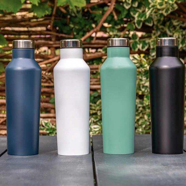 Moderne drikkeflaske - aluminium - 500 ml.
