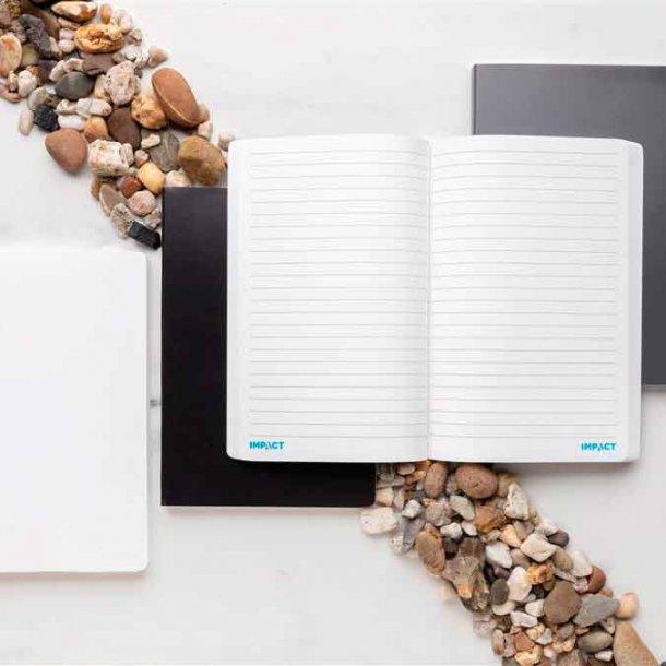 Impact softcover A5 notesbog - stenpapir
