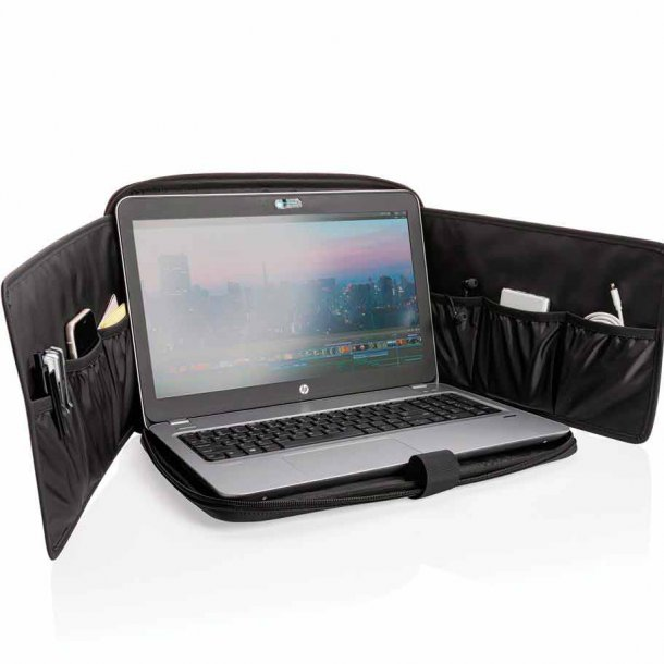 Swiss Peak vegansk læder laptop taske